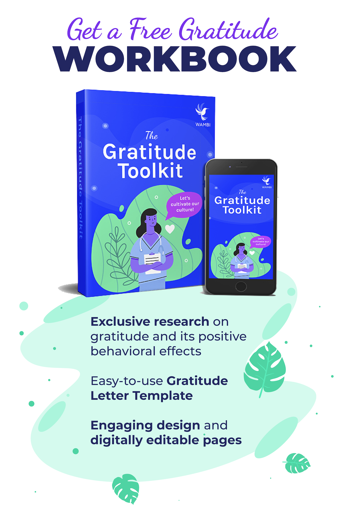 The Gratitude Toolkit is yours to download for free!