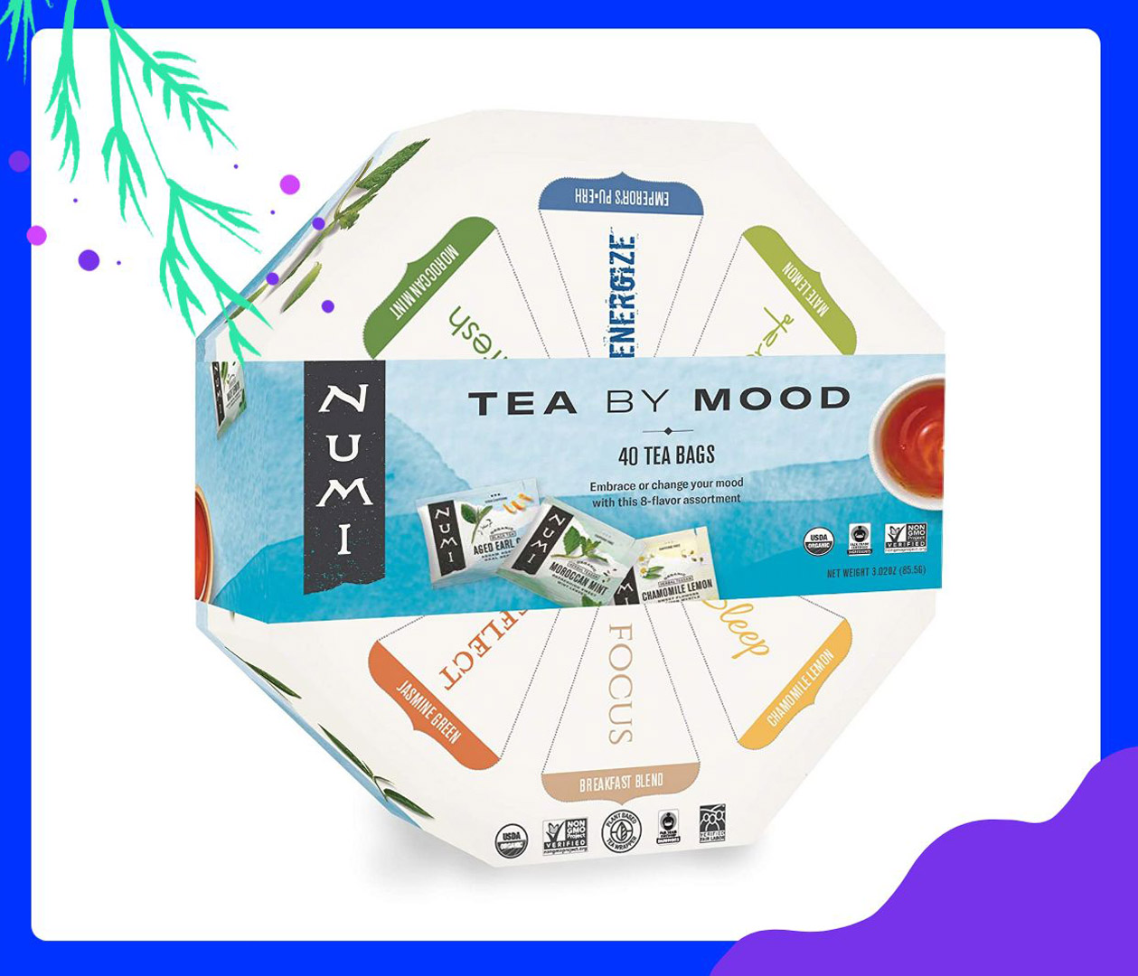 Teas for every mood Numi Healthcare