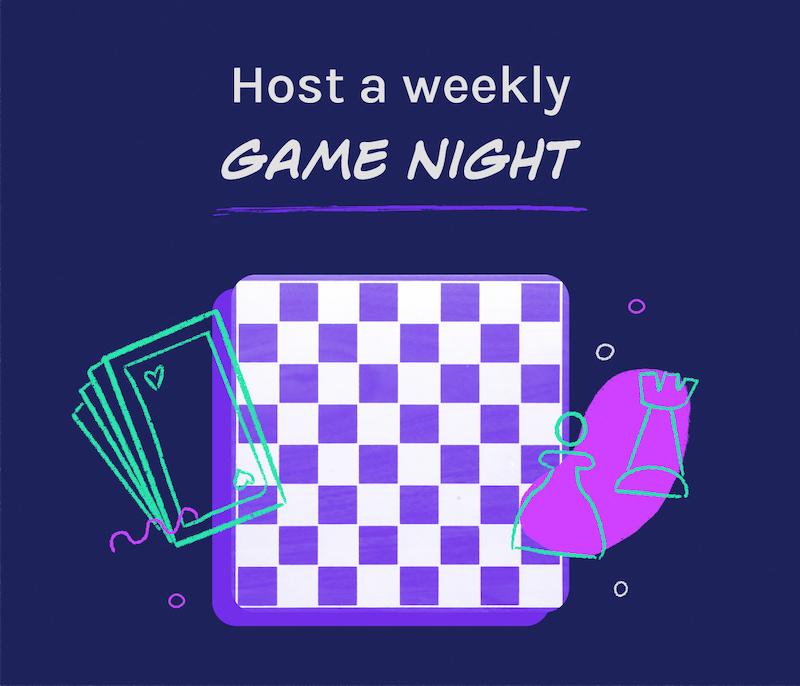 connect virtually through game night