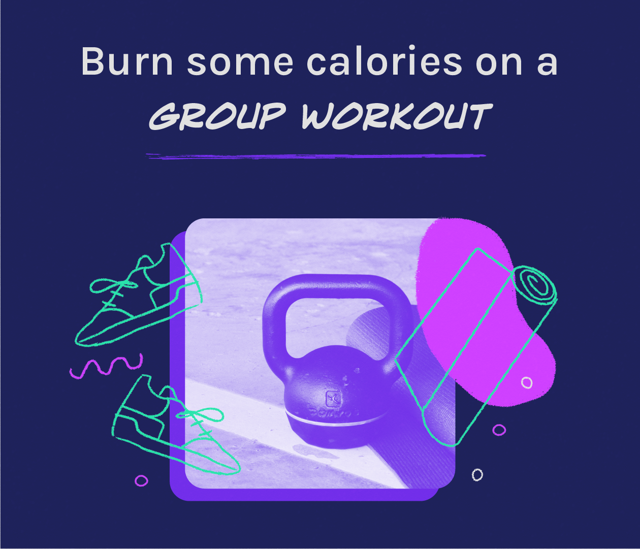 group workout with colleagues wambi