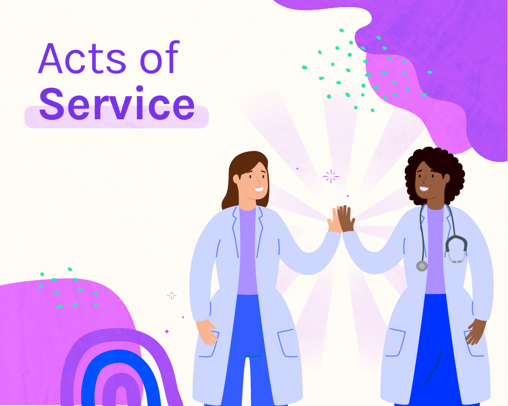 Acts of Service Wambi Five Love Languages