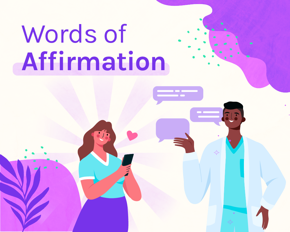 words of affirmation five love languages