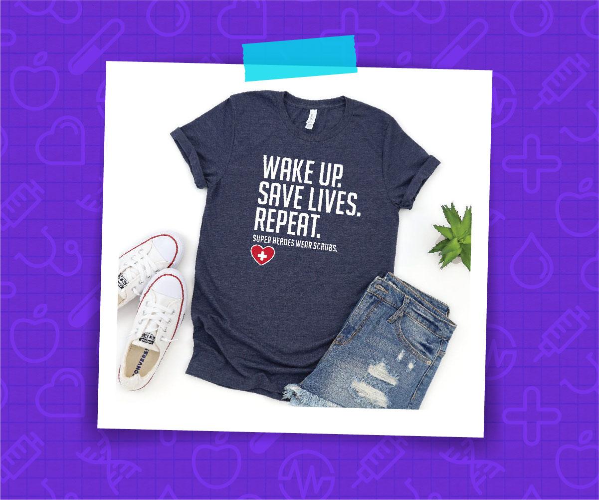Nurse Warriors Gifts for Nurses Shirt