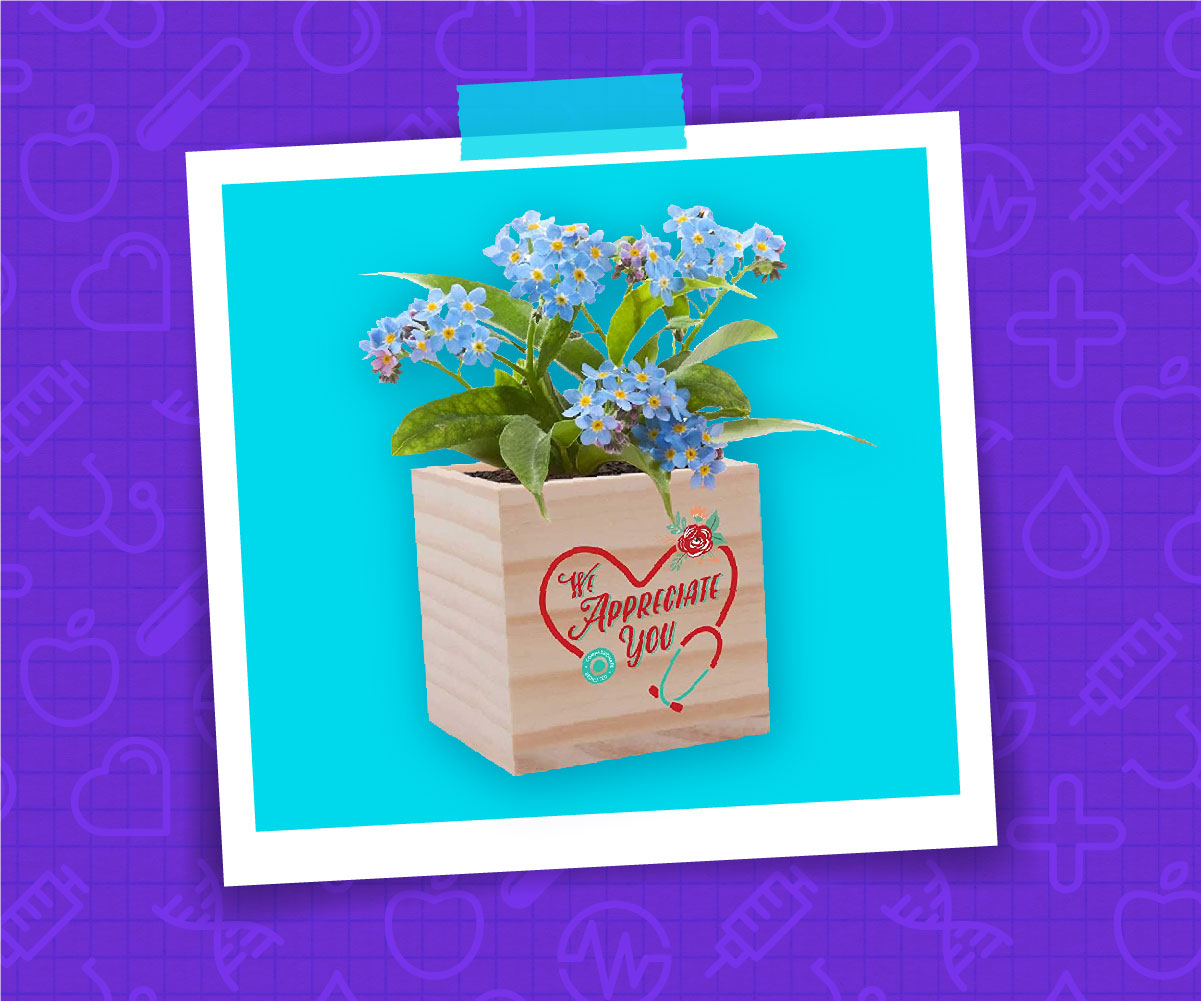 We Appreciate You Planter Kit
