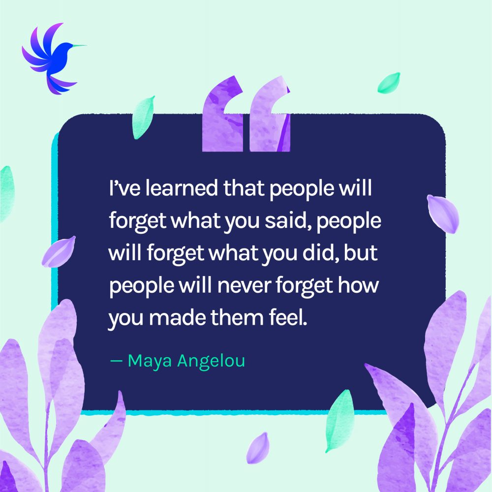 Motivational Quotes Maya Angelou People Will Never Forget How You Made Them Feel