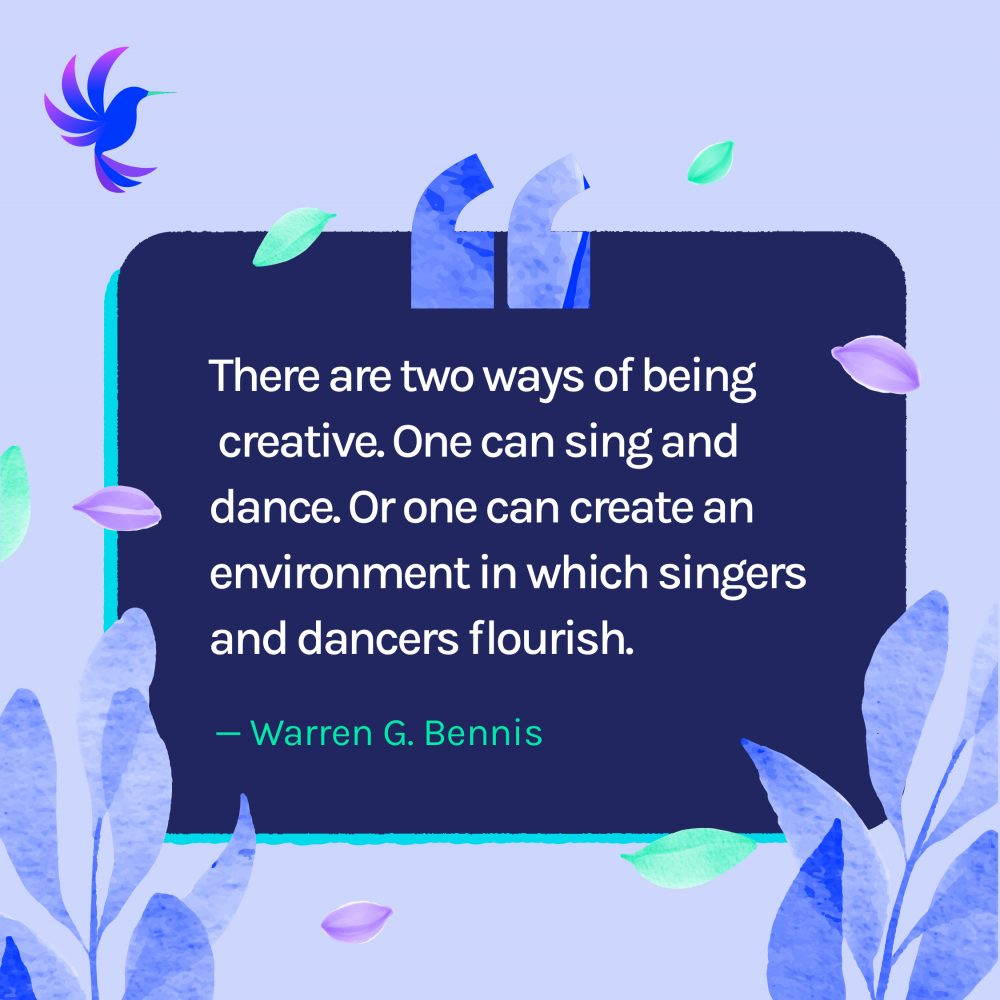 Motivational Quotes About Being Creative Wambi.org