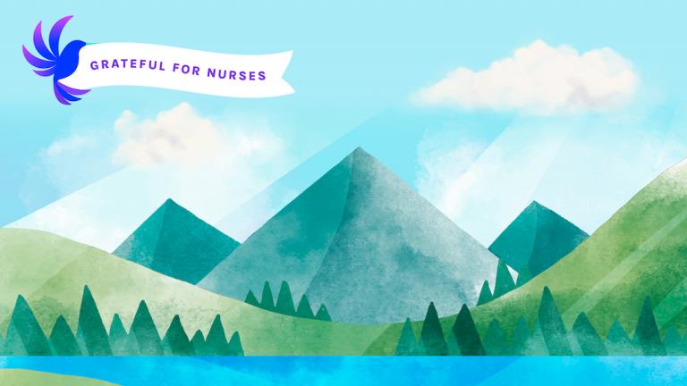 Wambi.org Free National Nurses Week Backgrounds Thankful For Nurses