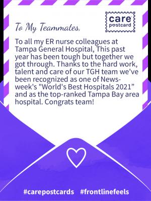 📍 Tampa General Hospital