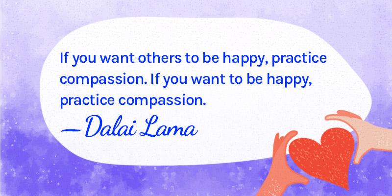 Emotional success through compassion